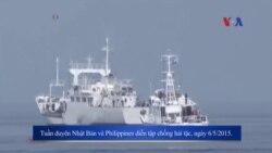 Philippines-Nhật sắp diễn tập hải quân ở Biển Đông