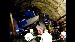 2014-07-15 美國之音視頻新聞: 莫斯科地鐵出軌造成十死百傷
