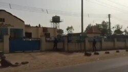 Ofishin 'Yan Sanda Da Maharan Boko Haram Suka Kona