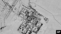 د کال ۱۹۷۱ په دې سېټلایټ تصویر کې د ډیمونه سره نژدې هغه مرکز لېدل کېږي چې شېمون پرېز نګېیو نیوکلیر ریسرچ سېنټر نومیږي