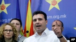 Претседателот на СДСМ, Зоран Заев