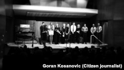 """Participants of """"Concers for Kolarac"""" concert at Montgomery College in Rockville, MD"""
