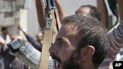 트리폴리 주변도시를 장악한 리비아 반군