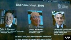 İqtisadçılar Nobel mükafatı aldılar