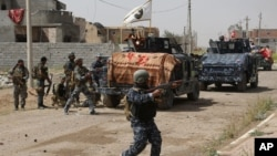 Lực lượng Iraq trong cuộc giao tranh giành lại thành phố Tikrit, 30/3/15
