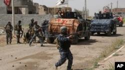 Iračke bezbednosne snage u borbi za Tikrit