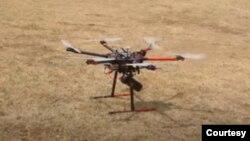 ကုိဗစ္အသိပညာေပးလုပ္ငန္းအတြက္ အသံုးျပဳ Speaker drone