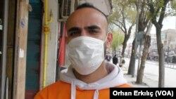 9 Nisan 2020 - Gaziantep'te yaşayan Suriyeli mülteci Muhammed el Tayyavi