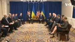 Повна зустріч президента України Петра Порошенка з президентом США Дональдом Трампом. Відео
