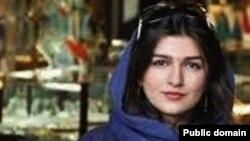 cô Ghoncheh Ghavami 25 tuổi bị tù vì tìm cách xem trận đấu bóng chuyền nam
