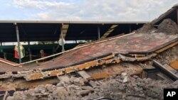En images : plus de 250 morts après un séisme au Mexique