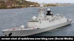 Tàu khu trục nhỏ đa nhiệm Liễu Châu của Hải quân Giải phóng quân Nhân dân Trung Quốc