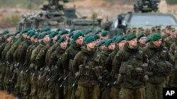 Litvanski vojnici (arhivski snimak)