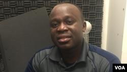 Zimbabwean born teacher, Phithi Ngcobo. (Photo: Tatenda Gumbo)