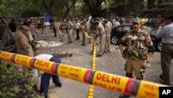 پیشرفت های پولیس هند در تحقیق راجع به انفجار در دهلی جدید