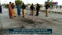 Pakistan'da Çifte İntihar Saldırısı