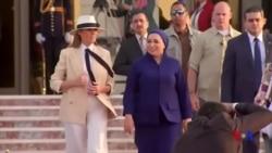 美國第一夫人梅拉尼婭非洲之行最後一站 - 埃及 (粵語)
