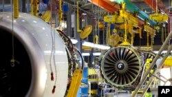 미국 워싱턴 주 렌턴 시의 보잉 737 생산 공장. (자료사진)
