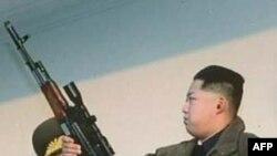 ჩრდილოეთ კორეაში სამხედრო შემოწმება ჩატარდა