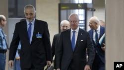 بشار الجعفری، سفیر سوریه در سازمان ملل و مذاکره کننده اصلی دولت
