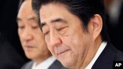 日本首相安倍晉三在美國國會發表演講談到慰安婦問題。