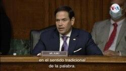 """Senador Marco Rubio: Gobierno de Maduro es """"un grupo de crimen organizado"""""""