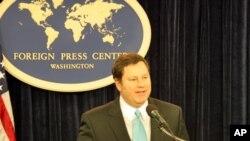 美國國務院主管公共事務代理助卿麥克.哈默(資料圖片)