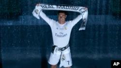 Le joueur du Real Madrid Cristiano Ronaldo, à Madrid le 29 mai 2016.