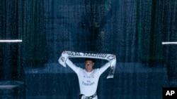 Cristiano Ronaldo du Real Madrid.