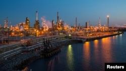 The Philadelphia Energy Solutions oil refinery