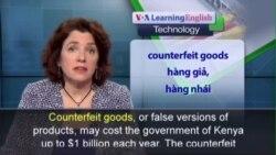 Phát âm chuẩn - Anh ngữ đặc biệt: Kenya Counterfeits (VOA)