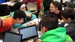 미국은 지금: 뉴욕시 공립학교 이중언어 교육