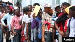 Wasu 'yan Haitin da suka koma gida wannan shekarar