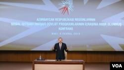 Prezident İlham Əliyev Azərbaycan regionlarının sosial-iqtisadi inkişafı konfransında çıxış edib