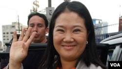 La candidata de Fuerza 2011, Keiko Fujimori, ha recibido aportes de unos $2.264.600 de dólares para su campaña.