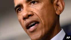 Shugaban Amurka Barack Obama akan cutar ebola