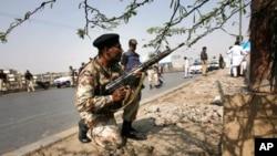 حملۀ انتحاری بر عساکر پاکستانی