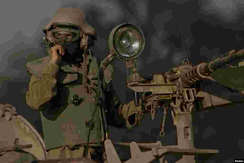 Ізраїльський солдат поблизу кордону.