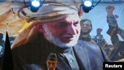 阿富汗总统卡尔扎伊6月18日在喀布尔发表讲话。(照片来源:路透社)