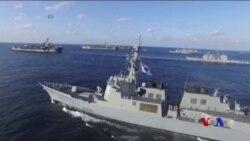 美日年度海上軍演被視為向平壤發出信號
