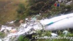 Desastre aéreo en Colombia