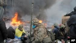Protes Ukraina
