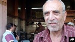 Ông Abdel Hamid Sayed, một người nghỉ hưu, muốn người dân Ai Cập có mức lương đủ sống