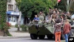Proruski pobunjenici u Lugansku (arhiva)