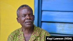 Alexandre Adognon, psychopédagogue au Togo, le 4 septembre 2016. (VOA/Kayi Lawson)