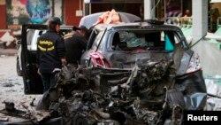 Serangan pemberontak Muslim di Thailand selatan, Desember 2013. (Foto: dok.)
