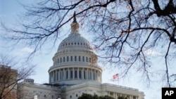 미국 워싱턴 DC의 연방의회 건물. (자료사진)