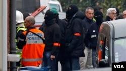 Las fuerzas policiales lograron dar con el paradero del atacante en Toulouse.