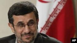 지난 9월 유엔총회에 참석차 미국 뉴욕을 방문중인 마무드 아마디네자드 이란 대통령(자료사진)