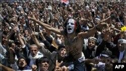 Антипрезидентський протест у столиці Ємену Сані